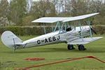 G-AEBJ @ EGTH - At Old Warden