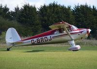 G-BRDJ @ EGHP - Luscombe 8F Silvaire at Popham. Ex N71984 - by moxy