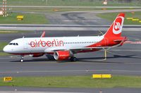 D-ABNY @ EDDL - Air Berlin A320 taxying in. - by FerryPNL
