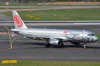 D-ABHK @ EDDL - Niki A320 operated by Air Berlin. - by FerryPNL