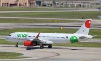 XA-VAN @ KIAH - Airbus A320