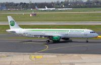 D-ASTP @ EDDL - Germania A321 taxying - by FerryPNL