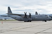 06-3171 @ KBOI - Parked on south GS ramp.  317th Airlift Group, Dyess AFB, TX. - by Gerald Howard
