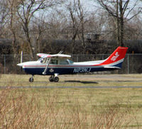 N23NJ @ 47N - It's always nice to spot one of these Civil Air Patrol birds! - by Daniel L. Berek