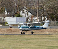N7796F @ 47N - This 1966 Cessna is about to touch down. - by Daniel L. Berek