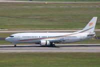 N458UW @ KIAH - Boeing 737-400