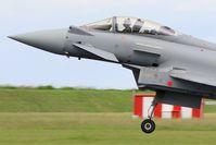 C16-56 @ LFOA - Spanish Air Force Eurofighter EF-2000 Typhoon S, Landing rwy 24, Avord Air Base 702 (LFOA) Open day 2016 - by Yves-Q