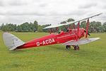 G-ACDA @ X1WP - De Havilland DH-82A Tiger Moth II at The De Havilland Moth Club's 28th International Moth Rally at Woburn Abbey. August 18th 2013. - by Malcolm Clarke