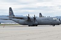08-5675 @ KBOI - Parked on the south GA ramp. 317th Airlift Group, Dyess AFB, TX. - by Gerald Howard