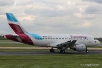 D-ABGN @ EGCC - D-ABGN Airbus A319 of Eurowings seen at Manchester Airport. This Aircraft used to be with Air Berlin. - by Robbo s