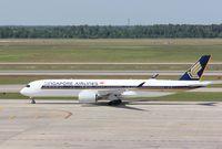 9V-SMG @ KIAH - Airbus A350-941 - by Mark Pasqualino