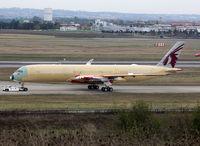 F-WZFJ @ LFBO - C/n 0063 - No test reg at this moment... For Qatar Airways as A7-ALO - by Shunn311