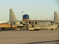 163310 @ KBOI - Parked on the ANG ramp.  VMGR-234 Rangers, NAS Fort Worth, TX. - by Gerald Howard