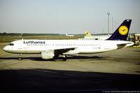 D-AIPY @ EDDK - Airbus A320-211 - Lufthansa 'Magdeburg' - D-AIPY - 14.05.1992 - CGN - by Ralf Winter