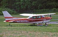 N7217Q @ 12N - A 1972 Skyhawk takes in the spring sun. - by Daniel L. Berek