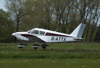 G-ATTX @ EGSV - Visiting aircraft - by Keith Sowter