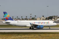 LY-SPD @ LMML - A320 LY-SPD Small Planet Airlines - by Raymond Zammit