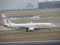 CN-RGJ @ EHAM - ROYAL AIR MAROC taxing to the gate - by fink123