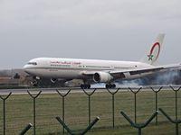 CN-RNT @ EBBR - ROYAL AIR MAROC 767 touchdown - by fink123