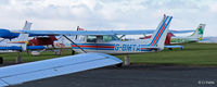G-BMTA @ EGPT - Parked at Perth - by Clive Pattle