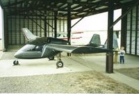 N8707A @ 77S - Hangared at Hobby Field, Creswell, OR.  (approximate year 1994) - by Laurel Miller