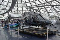 OE-XTV @ LOWS - Red Bull AS350 in its beautiful Hangar 7. - by FerryPNL