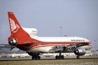 4R-ULB @ EHAM - TriStar 500 of Air Lanka landing at Schiphol airport, the Netherlands, 1983 - by Van Propeller