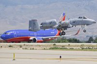 78-0619 @ KBOI - Landing RWY 10R.  190th Fighter Sq. Idaho ANG. - by Gerald Howard