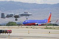 80-0276 @ KBOI - Landing RWY 10R.  190th Fighter Sq., Idaho ANG. - by Gerald Howard