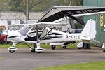 G-CIEE @ EGBO - At Wolverhampton (Halfpenny Green) Airport - by Terry Fletcher