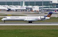 D-ACNJ @ EDDM - Lufthansa Cityline CRJ900 landing. - by FerryPNL