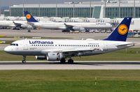D-AIBE @ EDDM - Lufthansa A319 landing - by FerryPNL