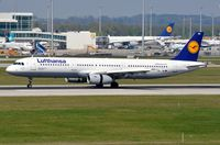 D-AIRA @ EDDM - Arrival of LH A321 - by FerryPNL