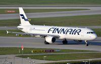 OH-LZE @ EDDM - Finnair A321 arriving - by FerryPNL