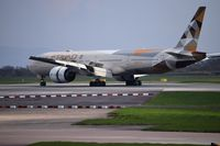 A6-ETF @ EGCC - just landed at man egcc uk - by andysantini
