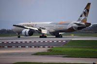 A6-ETF @ EGCC - just landed at man egcc uk - by andysantini