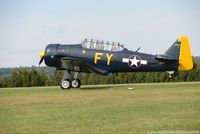 N13FY @ EDRV - North American AT-6A Texan - Vintage Aircraft - 78-6922 - N13FY - 03.09.2016 - EDRV - by Ralf Winter