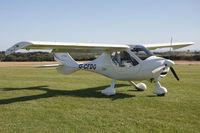 G-CFDO @ X5FB - Flight Design CTSW at Fishburn Airfield UK. September 12th 2009. - by Malcolm Clarke