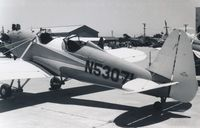 N53071 @ WVI - Watsonville Airport California 1969 - by Clayton Eddy