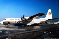 5X-UCF @ EDDK - Lockheed L100-30 - Ugandan Government 'The Silver Lady' - 5X-UCF - 04.1979 - CGN - by Ralf Winter