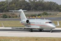 9H-VFJ @ LMML - Bombardier Challenger605 9H-VFJ Vistajet - by Raymond Zammit