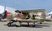 N79091 @ SZP - 1941 Beech D17S STAGGERWING, P&W R-985 450 Hp, at AOPA FLY-IN - by Doug Robertson