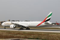 A6-EGK @ LMML - B777 A6-EGK Emirates Airlines - by Raymond Zammit