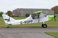 G-ROPP @ EGBR - Nando Groppo Trial at Breighton Airfield's Auster Fly-In. May 4th 2015. - by Malcolm Clarke