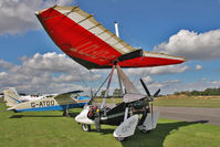 G-OFDT @ EGBR - P&M Aviation Pegasus Quik at Breighton Airfield's Summer Madness & All Comers Fly-In. August 22nd 2010. - by Malcolm Clarke