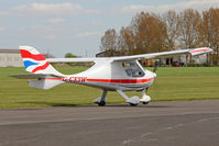 G-CESW @ EGBR - Flight Design CTSW at Breighton Airfield's Auster Fly-In. May 4th 2015. - by Malcolm Clarke
