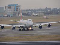 LX-VCJ @ EHAM - CARGOLUX 747 - by fink123