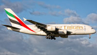 A6-EOU @ EHAM - Emirates A380-800 on final for the ''Kaagbaan'' at EHAM! - by Daan Hermans