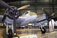T5049 @ KFFO - 'Night Mare' on display at the National Museum of the U.S. Air Force.  This aircraft was delivered to the RAAF in 1942.  It is painted to represent the Beaufighter flown by Capt. Harold Augspurger of the USAAF 415th Night Fighter Sqn.