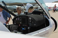 N140VT @ CMA - 2014 Stemme GMBH  S10-VT Motor Glider, Rotax 914, panel, at AOPA FLY-IN - by Doug Robertson